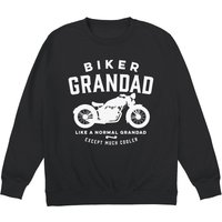 Biker Grandad Sweatshirt - Grandad Gifts