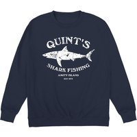 Inspired By Jaws - Quint's Shark Fishing Sweatshirt - Shark Gifts