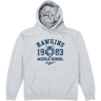 Inspired By Stranger Things - Hawkins Middle School Hoodie - School Gifts