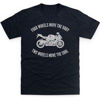 Two Wheels Move The Soul Kid's T Shirt - Shirt Gifts