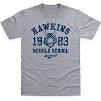 Inspired By Stranger Things - Hawkins Middle School Kid's T Shirt - School Gifts