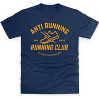 Anti Running Running Club Kid's T Shirt - Athletics Gifts