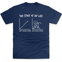 The Story Of My Life Kid's T Shirt - Life Gifts