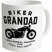 Biker Grandad Mug - Grandad Gifts