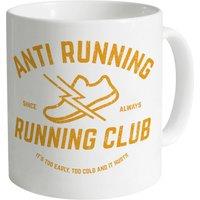 Anti Running Running Club Mug - Running Gifts