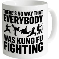 Kung Fu Fighting Mug