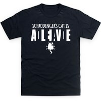 Schrodinger Dead Alive T Shirt - Shot Dead In The Head Gifts