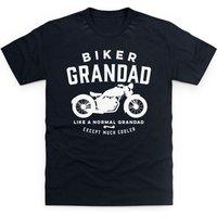 Biker Grandad T Shirt - Grandad Gifts