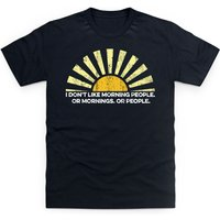 Morning People T Shirt - People Gifts
