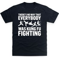 Kung Fu Fighting T Shirt - Fighting Gifts