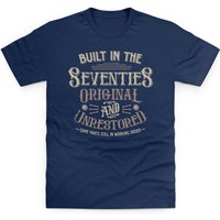 Whiskey Built In the Seventies T Shirt - Shirt Gifts