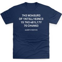 The Measure of Intelligence T Shirt - T Shirt Gifts