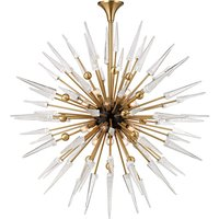 Hudson Valley Lighting Sparta Steel 18 Light Chandelier