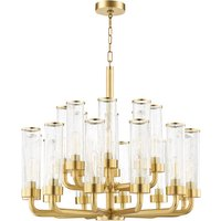 Hudson Valley Lighting Soriano Steel 20 Light Chandelier