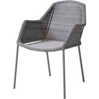 CANE-LINE Breeze Outdoor Chair Fiber Light Grey