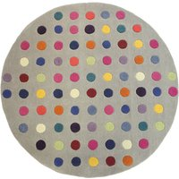 Asiatic Carpets Funk Hand Tufted Rug Circle Spotty - 150 x 150cm