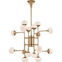 Hudson Valley Lighting Fleming Steel 16 Light Chandelier