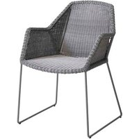 CANE-LINE Breeze Chair Fiber Light Grey (2pk)