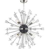 Hudson Valley Lighting Liberty Steel 6 Light Chandelier