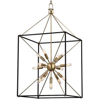 Hudson Valley Lighting Glendale Brass 13 Light Chandelier