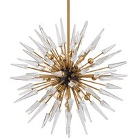 Hudson Valley Lighting Sparta Steel 12 Light Chandelier