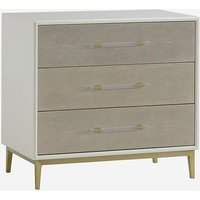 Andrew Martin Nightstand Alice Bedside Cabinet White
