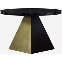 Andrew Martin Reagan Dining Table Black / Large