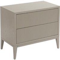 RV Astley Amur Bedside Cabinet Wide Ceramic Grey