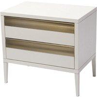 RV Astley Rhona 2 Drawer Bedside Cabinet