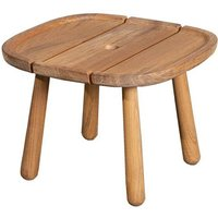 Cane-line Royal Teak Square Outdoor Coffee Table