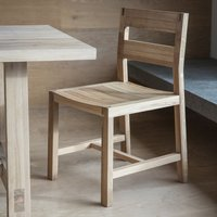 Hudson Living Set of 2 Kielder Scandi Dining Chairs | Outlet
