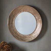 Gallery Direct Knowle Mirror / Gold / Trio