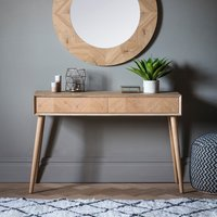 Gallery Direct Milano 2 Drawer Console Table