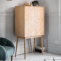 Gallery Direct Milano 2 Door Cocktail Cabinet