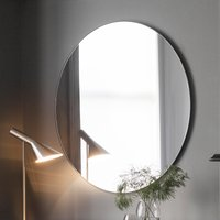 Gallery Direct Hayle Round Mirror Black