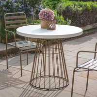 Gallery Direct Greenwich Bistro Outdoor Table   Outlet