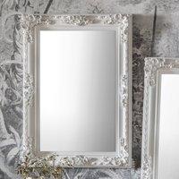 Gallery Direct Altori Rectangle Mirror White