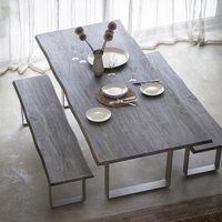 Gallery Direct Huntington Large Dining Table Grey