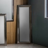 Gallery Direct Cobain Leaner Mirror Silver