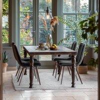 Gallery Direct Sagar Brown Rectangular Dining Table