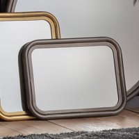 Gallery Direct Eindhoven Mirror Zinc Wall Mirror   Outlet / Large