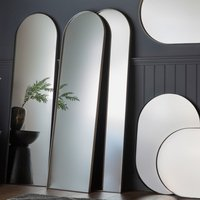 Gallery Direct Hurston Arch Champagne Full Length Mirror