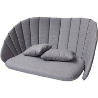 Cane-line Peacock 2-Seater Sofa Grey Outdoor Cushion Set