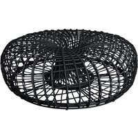 Cane-line Nest Lava Grey Large Footstool Outdoor Coffee Table