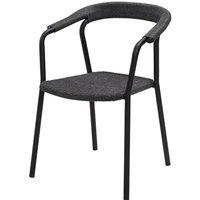 Cane-line Noble Stackable Dark Grey Outdoor Armchair
