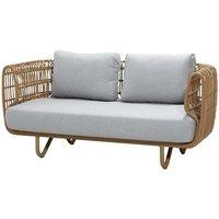 CANE-LINE Nest 2-seater Sofa Outdoor Fiber And Natte Natural