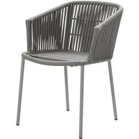 Cane-line Moments Stackable Grey Outdoor Armchair