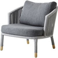 Cane-line Moments AirTouch Lounge Outdoor Chair Grey