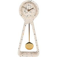 Zuiver Pendulum Time Mantel Clock White   Outlet