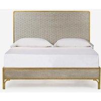 Andrew Martin Gilded Star Mirror Bed Uk King